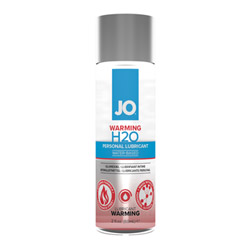 JO H2O warming lubricant - water based lube