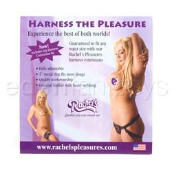 Double strap harness - Harness the pleasure - view #5