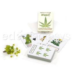 Weed card game - adult game
