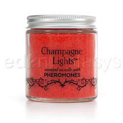 Romantic candle - mist