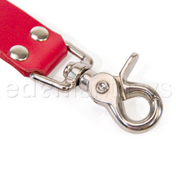 Restraints - Leather hog tie - view #2