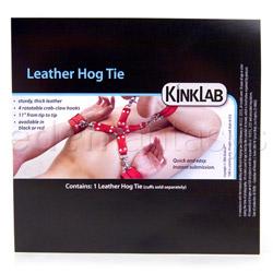 Restraints - Leather hog tie - view #4