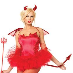 Red devil accessory kit - hat