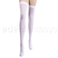 Opaque thigh highs - sexy lingerie