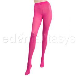 Opaque fashion tights