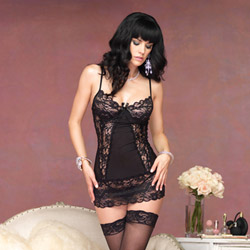 Butterfly chemise set - sexy lingerie