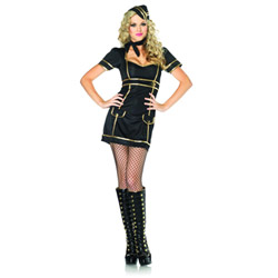 Sultry stewardess - costume