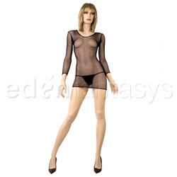 Industrial net dress - mini dress