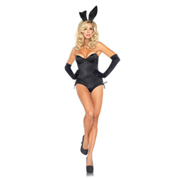 Black bunny - costume