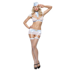 Frisky flight attendant - costume