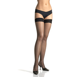 Industrial net thigh highs - hosiery