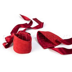 Wrist cuffs - Etherea silk cuffs - view #3