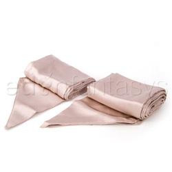Luxury silk bondage sashes - bdsm kit