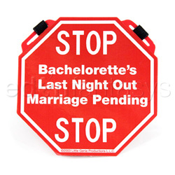 Bachelorette chastity belt - Gags