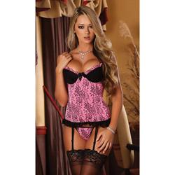 Love Affair corset set