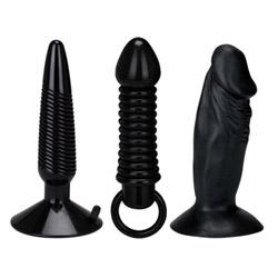 Humper butt plug set - screw - Anal kit