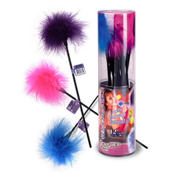 Frolicking feather stix - feather tickler