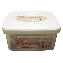 Pleasure wipes tub