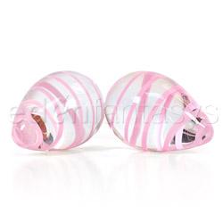 Crystal premium glass eggs - vaginal balls
