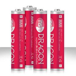 DRAGON -  alkaline batteries AAA - DVD