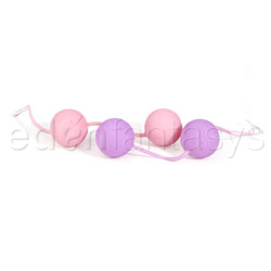 The ben wa balls - exerciser for vaginal muscles