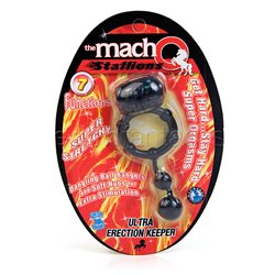 The Macho Stallions ultra erection keeper - cock ring