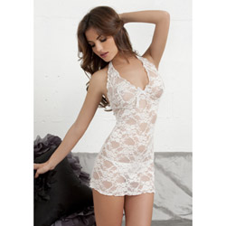 Tres Sexy lace babydoll and g-string - babydoll and panty set