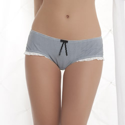 Ashley Boutique striped boyshort