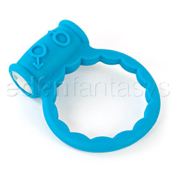 Pure silicone vibration ring