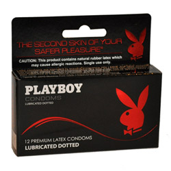 Male condom - Lubricated dotted condoms - view #1