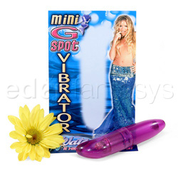 G-spot vibrator - Mini G-spot waterproof purple - view #3
