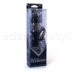 Rabbit vibrator - Black diamond - view #5