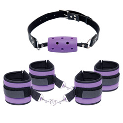BDSM kit - Fetish fantasy purple pleasure set - view #1