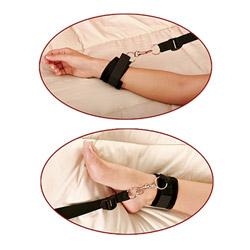 Under bed strap kit - Fetish Fantasy bed restraint bondage kit - view #3