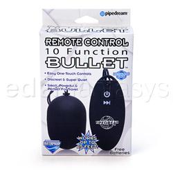 Remote control bullet - bullet vibrator