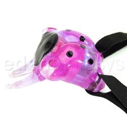 Lana's lady bug  - lav - Strap-on vibrator
