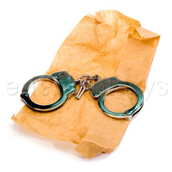 Handcuffs - Police handcuff - view #2