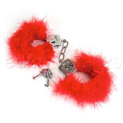 Feather love cuffs - sex toy