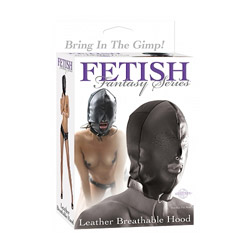 DVD - Leather breathable hood - view #1