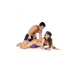 DVD - Purple pleasure bondage set - view #4