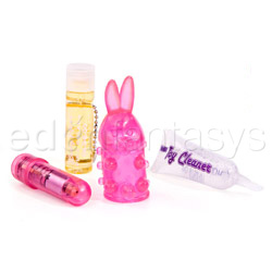 Vibrator kit  - Portable pleasures petz bunny - view #5