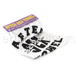 After sex towel (carded) - gags