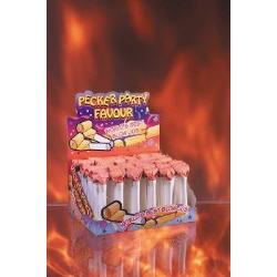 Pecker party favor 48 pieces with display - DVD