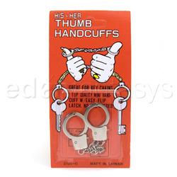 Thumbcuffs - argolla para muñeca