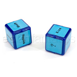 Oral sex dice for him - adult game