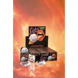 Licks flavored condoms - each - DVD