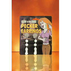 Pecker earrings glow - DVD