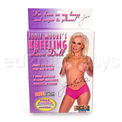 Jodie Moore's kneeling love doll - Female love doll