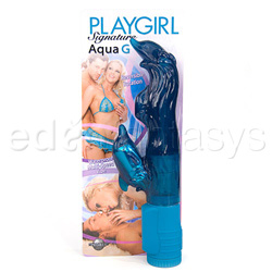 G-spot rabbit vibrator - Playgirl aqua G - view #5