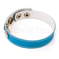 Cock ring - Fresh five snap blue cock ring - view #2